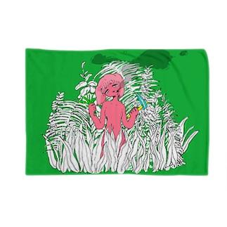 草むしる Blankets