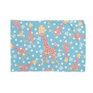 キリンだらけ -pastel- Blankets