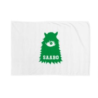 SAABO_FUR_ForestMan_L_G Blankets