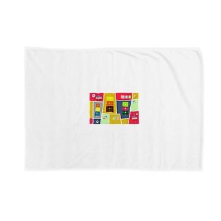まーマジョのマジョの箱 Blankets