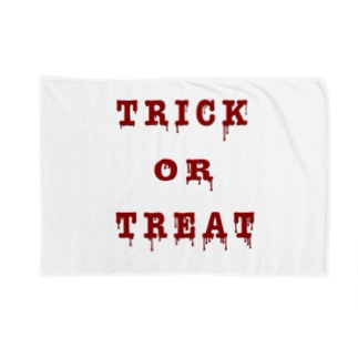 Bloody Trick or Treat Blankets