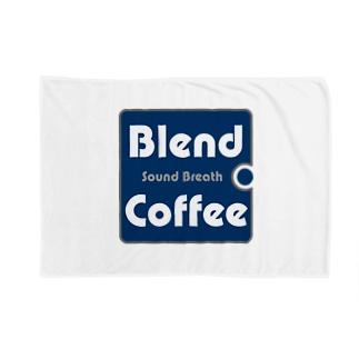 シンプルロゴ Blankets