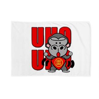UHOUHOゴリッキー(腹かけバージョン) Blankets