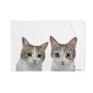 チャビー君とジェミーちゃん 背景なし2 Blankets