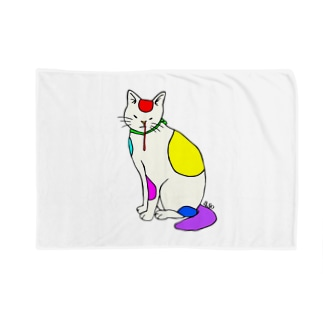 背筋良い猫 Blanket