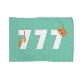 ラッキー7 Blanket