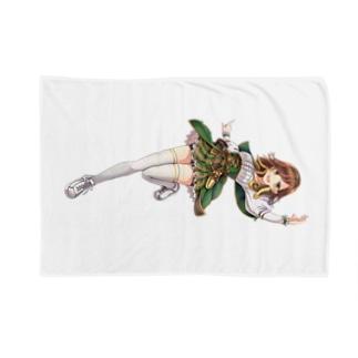 エリカ=バックストロム(制服) Blankets
