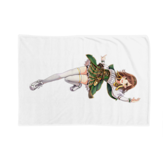 モカデミア公式Shopのエリカ=バックストロム(制服) Blankets