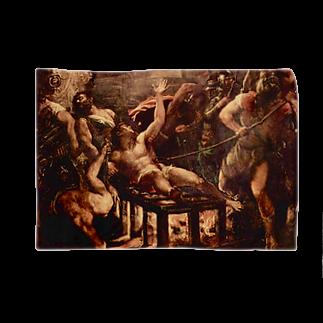tamurosouの聖ラウレンティウスの殉教 Blankets
