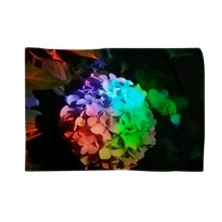「レインボー紫陽花」 Blankets