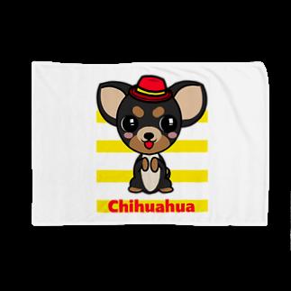 オリジナルデザインTシャツ SMOKIN'のちんちんチワワ Blankets
