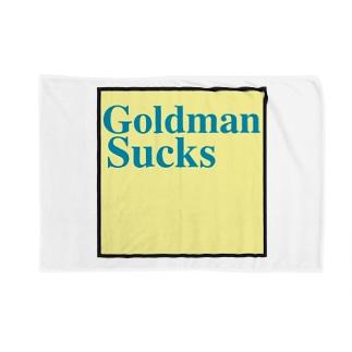 GoldmanSucks ブランケット