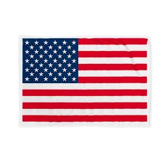アメリカ 国旗 Blankets