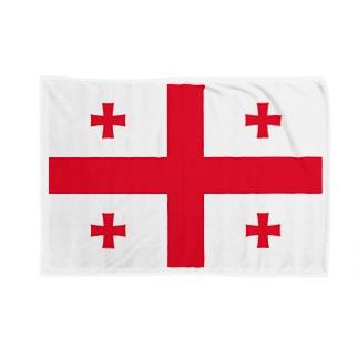 ジョージア 国旗 Blankets