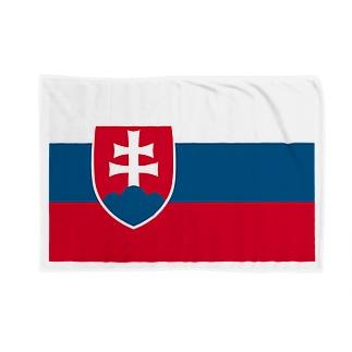 スロバキア 国旗 Blankets