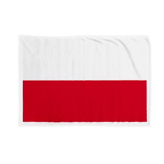ポーランド 国旗 Blankets