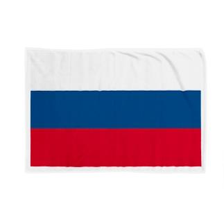 ロシア 国旗 Blankets