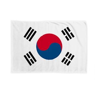 韓国 国旗 Blankets