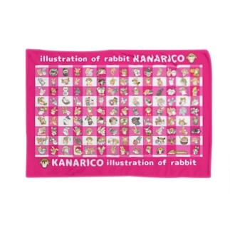 kanarico1周年ブランケット ブランケット