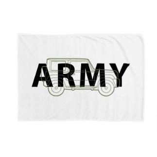 U.S.ARMYなジムニー Blanket