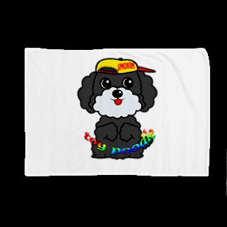 オリジナルデザインTシャツ SMOKIN'のちんちんトイプードル Blankets