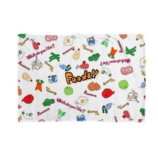 Foods!! Blankets