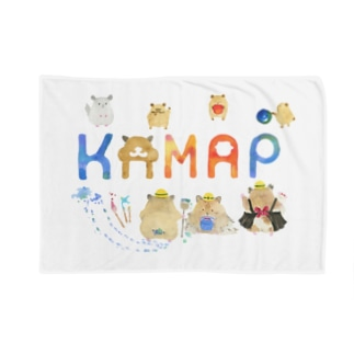 【KAMAP】カラフルKAMAP Blanket
