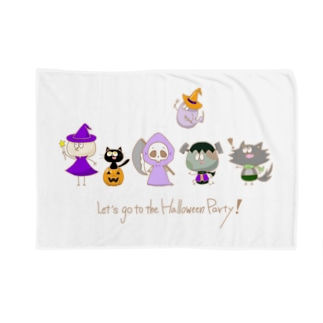 Let's go to the Halloween Party! Blanket