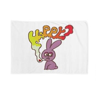 bitter rabbit ブランケット