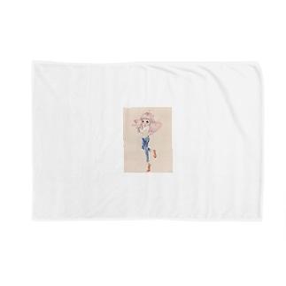 ちゅっちゅちゃん Blankets