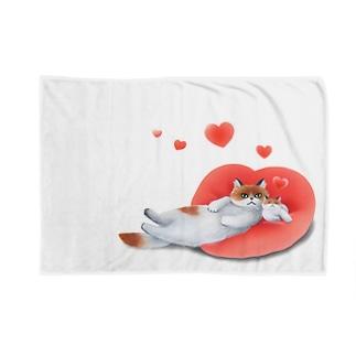ハート&ハート Blankets