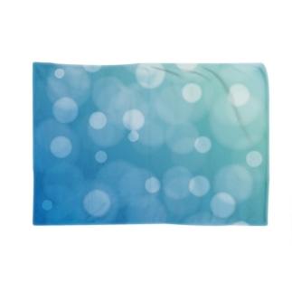 bokeh-blue Blankets