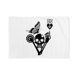 ESCHATOLOGYのバタフライスカル・マイハート Blankets