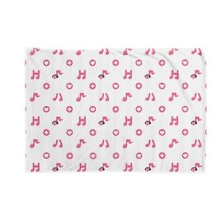 早川一族のモノグラム Blankets