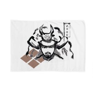 戦国武将(武田信玄) Blankets