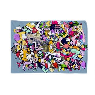 ブランケット【23時のおやつ】 Blankets