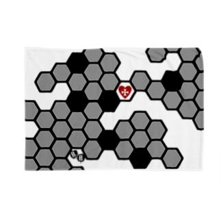 兎蜂の巣。 Blankets