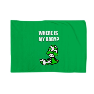 あんびくん(恐竜) Blankets