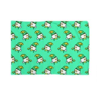 ヒボたんショップのヒボたんの行進 Blankets