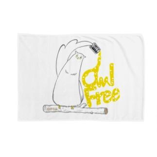 I.gasu owlfree1 【アイガス】 Blankets