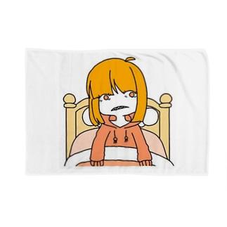 【病み可愛い】寝起き【オリジナル】 ブランケット