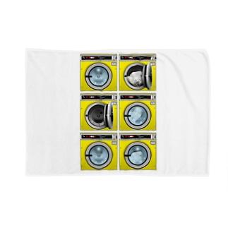 コインランドリー Coin laundry【2×3】 ブランケット