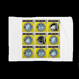 TOMOKUNIのコインランドリー Coin laundry【3×3】 Blankets