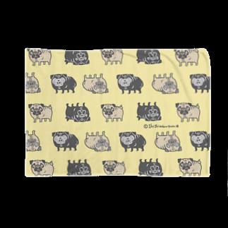 shishimaru-gmenのパグちゃん Blankets