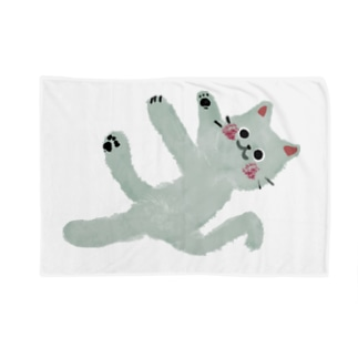 甘えんぼネコ【ゆめかわアニマル】 Blankets