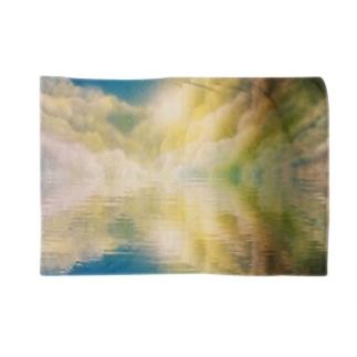 湖面に写り込む Blankets