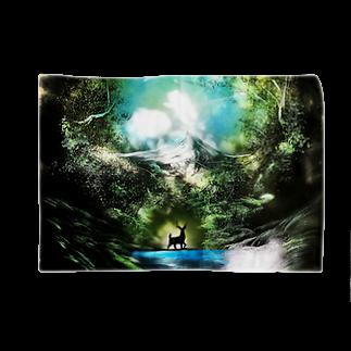 ☆ファイター☆の新緑と鹿 Blankets