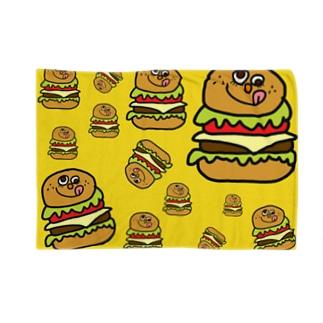 ハンバーガーさん ブランケット