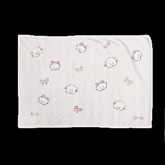 ワヌ山のワヌ美ちゃん&シズヨちゃん Blankets