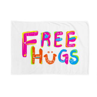 もやしくんのフリーハグ/FREE HUGS Blankets